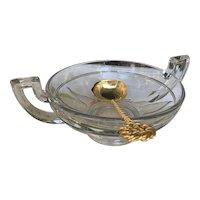 Vintage Belgian Punch Bowl