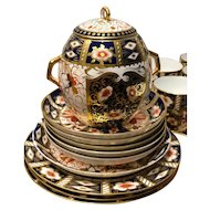 Royal Crown Derby Imari part tea service
