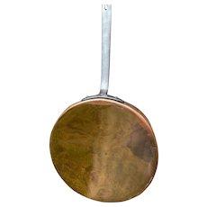 Antique Copper Sautee Pan