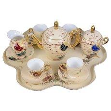 Stunning Early 20th Century Limoges Porcelain Cabaret Set