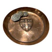 Early 1900s Copper Tray Trinket Change