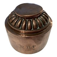 Copper Jelly Mould Victorian