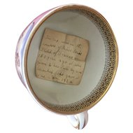 19th century French transfer printed cup