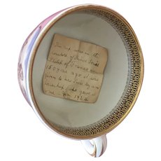 A  19th century transfer printed cup