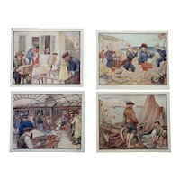 Vintage Bells French Picture Cards