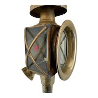 Antique French Coach Lamps