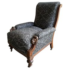 Antique Edwardian Arm Chair Liberty