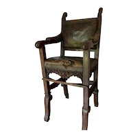 Excellent Early Victorian Childs High Chair