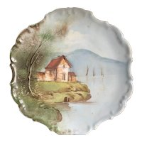 Antique Limoges China Hand Painted Plate