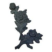 French Metal Handles Decorative