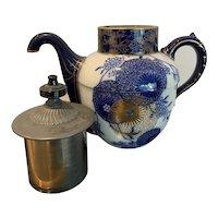 Antique Doulton Burslem Self Pouring Teapot