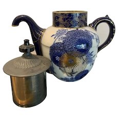 Antique Doulton Burslem Self Pouring Teapot