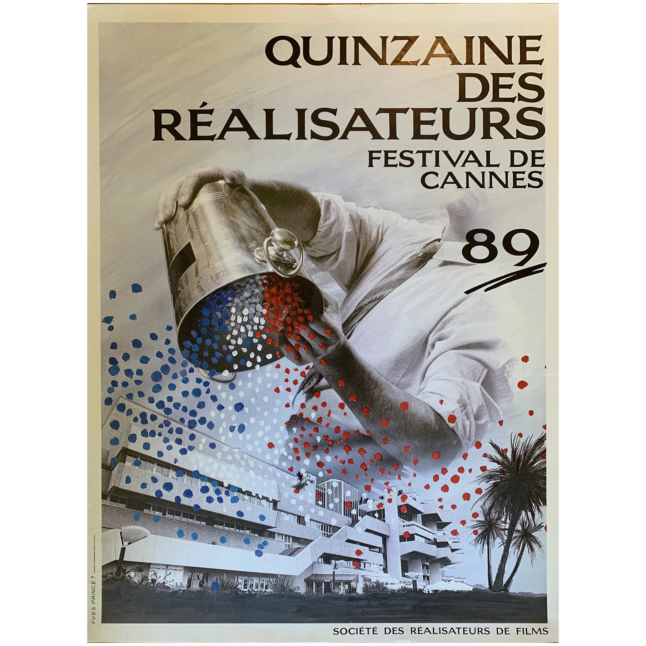 5 French Vintage Cannes Film Posters
