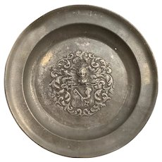 18th Century Pewter Dish