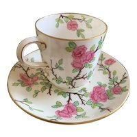 Cup and Saucer Coalport 1750 AD