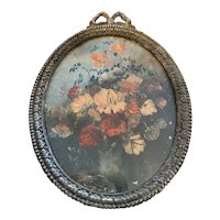 Pair of Antique Miniature French Paintings