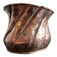 Antique French Hammered Copper Jelly Mould