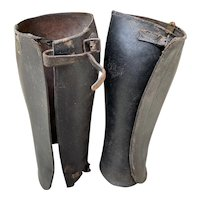 Pair of Vintage Leather Buskins