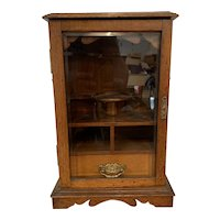 Victorian Smokers Display Cabinet