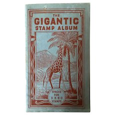 1930s Stamp Album