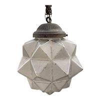 French Art Deco Light Fitting/Shade