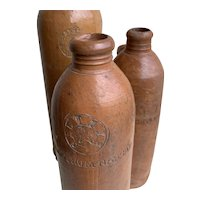 19th Century German Stone ware  bottles