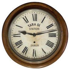 Antique Ansonia Dublin Station Clock