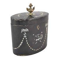 19th Century French Ormolu Tea Caddy