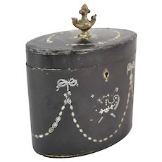 19th Century French Ormolu Tea Caddy