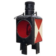 Vintage German Train Lantern