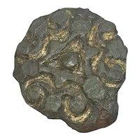 Viking Gilded Bronze Brooch