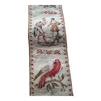 A 19th Century 2m long Needlework Wall Hanging
