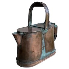 19th Century French Copper Water Jug
