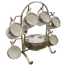 Antique Porcelain Coffee Set