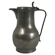 Continental Pewter Jug, 18th Century