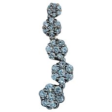 Waterfall .65ctw Diamond Pendant