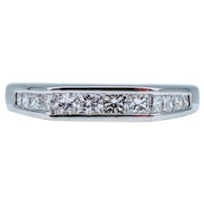 .50 ctw Diamond 18kt Wedding Band