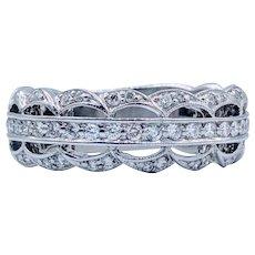 Custom Hand Crafted Diamond Ring