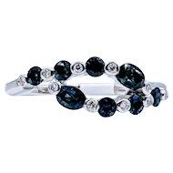 Beautiful Sapphire & Diamond Ring