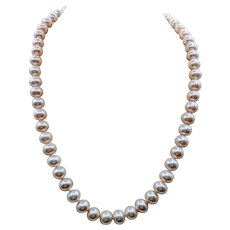 14kt Cultured Pearl Necklace