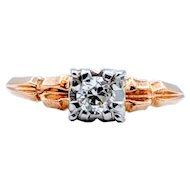 Vintage Engagement Diamond Ring