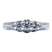 Diamond 3-Stone Engagement Ring