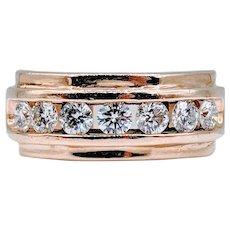 1.00ctw Mens Diamond Ring