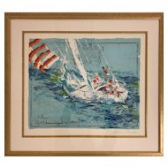 "Leroy Neiman AP ""Nantucket"" Limited to only 50"
