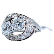 Art Deco Diamond Right Hand Ring
