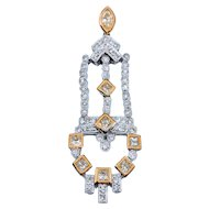 Chandelier Diamond Pendant