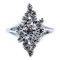 Diamond Cocktail Waterfall Ring .50ctw