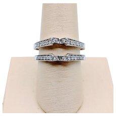 18kt Diamond Ring Enhancer