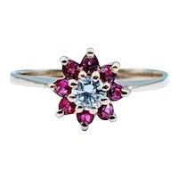 Unique Diamond & Ruby Ring
