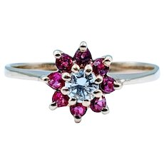 Unique Diamond & Ruby Ring